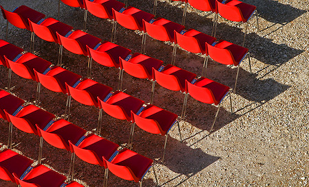 Chairs, Lecce, Italy